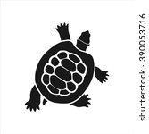 Ocean Turtle Simple Icon On...