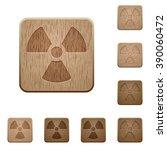 set of carved wooden radiation...