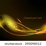 abstract light background with ... | Shutterstock . vector #390098512