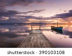 Pier With Fishing Vessels At...
