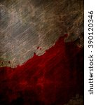 blood on grunge background | Shutterstock . vector #390120346