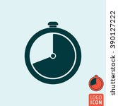 clock icon. timer stopwatch...