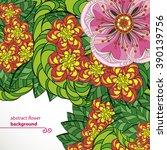 vector illustration greeting... | Shutterstock .eps vector #390139756