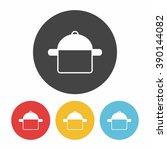 pot icon | Shutterstock .eps vector #390144082