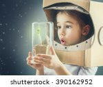 child is dressed in an...   Shutterstock . vector #390162952