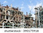 oil and gas industry  | Shutterstock . vector #390175918