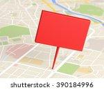 map locator icon   Shutterstock . vector #390184996