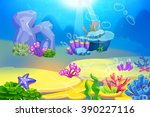 creative illustration and... | Shutterstock . vector #390227116