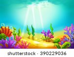 creative illustration and... | Shutterstock . vector #390229036
