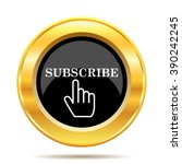 Subscribe Icon. Internet Button ...