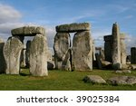 Stock photo monoliths at stonehenge england 39025384
