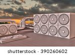 hvac  heating  ventilating  air ... | Shutterstock . vector #390260602