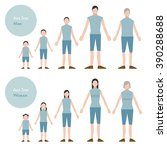 look into men and women age | Shutterstock .eps vector #390288688