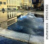 city reflections | Shutterstock . vector #390314302