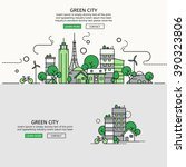 green city for website banner...