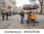lviv  ukraine   february 6 ... | Shutterstock . vector #390335938