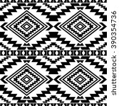 boho style seamless pattern... | Shutterstock .eps vector #390354736