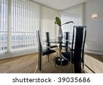 Stylish Modern Dining Room Wit...