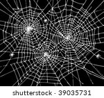 web background. eau forte 307. | Shutterstock .eps vector #39035731