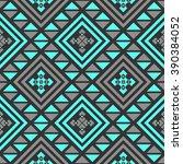 Boho Seamless Pattern With...