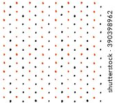 seamless pattern of dots of... | Shutterstock .eps vector #390398962