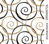 hand drawn pattern background | Shutterstock .eps vector #390400726
