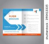 vector modern brochure ... | Shutterstock .eps vector #390413335