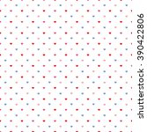 seamless colored pattern with... | Shutterstock . vector #390422806