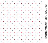 seamless retro pattern with... | Shutterstock . vector #390422842