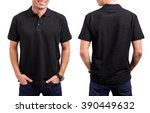 Man's Black T  Shirt