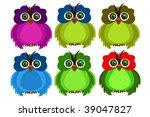 owl | Shutterstock .eps vector #39047827