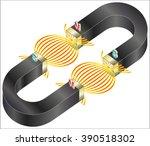 magnetism | Shutterstock .eps vector #390518302