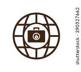 business icon  vector... | Shutterstock .eps vector #390527662