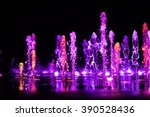 Colorful Water Shape On...