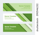 Material Design Banners. Set O...