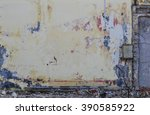 concrete ruins demolition  | Shutterstock . vector #390585922