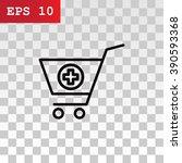 shopping cart icon   Shutterstock .eps vector #390593368