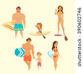 vector illustration of young... | Shutterstock .eps vector #390602746