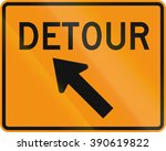 road sign used in the us state... | Shutterstock . vector #390619822