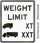 Road Sign Used In The Us State...