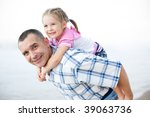 an outdoor portrait of middle... | Shutterstock . vector #39063736