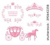 design elements  vintage... | Shutterstock .eps vector #390642358