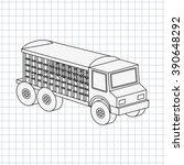 isometrics car icon design  | Shutterstock .eps vector #390648292