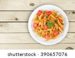 pasta. | Shutterstock . vector #390657076