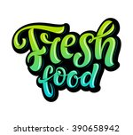 vector illustration  food... | Shutterstock .eps vector #390658942