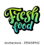 vector illustration  food... | Shutterstock .eps vector #390658942