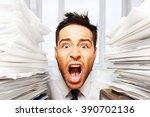 emotional stress. | Shutterstock . vector #390702136