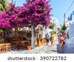Mykonos  Greece  June 16  Shop...