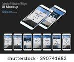 calendar mobile app widgets ui...