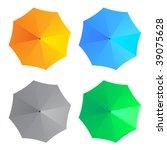 vector umbrellas | Shutterstock .eps vector #39075628